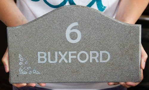 Shaped Corian House Signs & Name Plates | The Sign Maker Shop